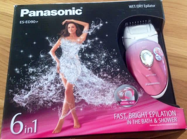 Panasonic ES-ED90-P The Best Epilator for your Summer