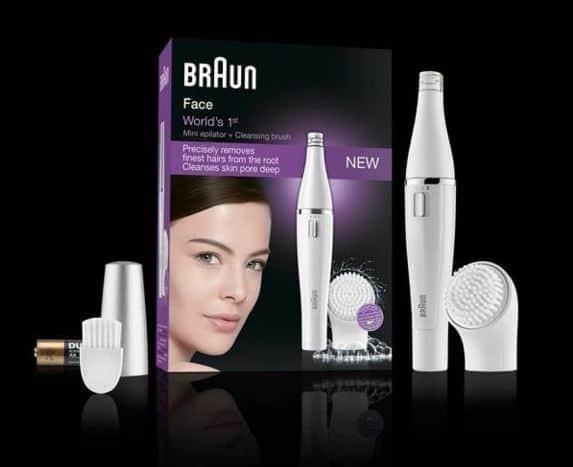 Braun Face Epilator and Facial Cleansing Brush Review
