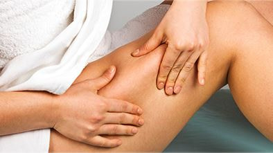 squeeze skin when epilating to reduce pain