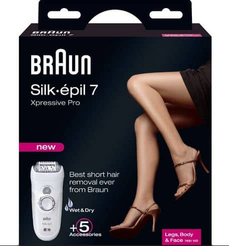 Braun Silk Epil 7 Xpressive 7681 – My Personal Favorite Epilator